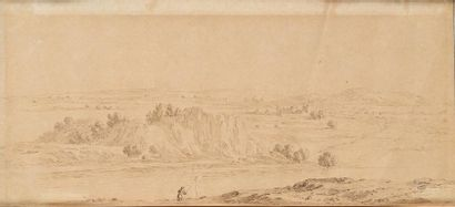 Israël SILVESTRE (Nancy, 1621 - Paris, 1691), entourage de
