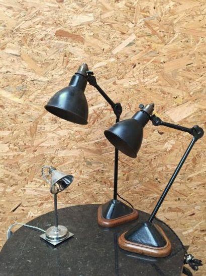 Bernard Albin GRAS  Lampe de bureau modèle...
