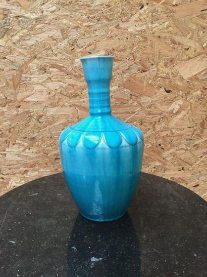 PRIMAVERA pour C.A.B  Grand vase en céramique...