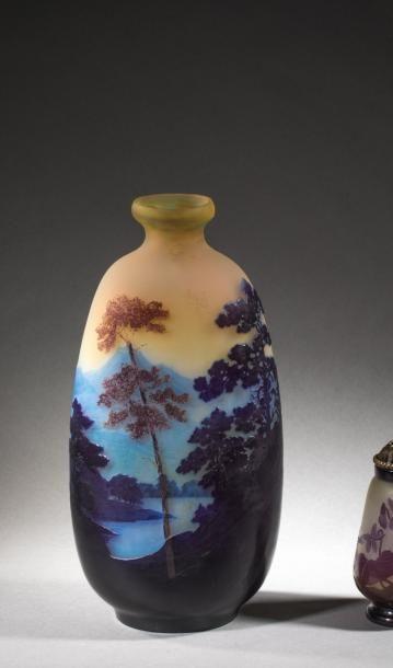 Etablissement GALLE  Beau vase de forme