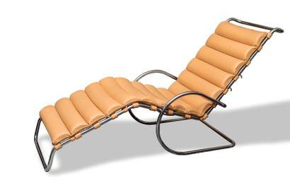 Knoll Edition  MR Chaise longue, Modèle de...