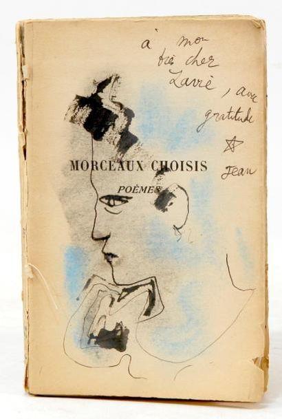 . COCTEAU (Jean). Morceaux choisis, poèmes....