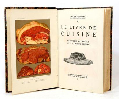 . GOUFFÉ (Jules). Le Livre de cuisine. La...
