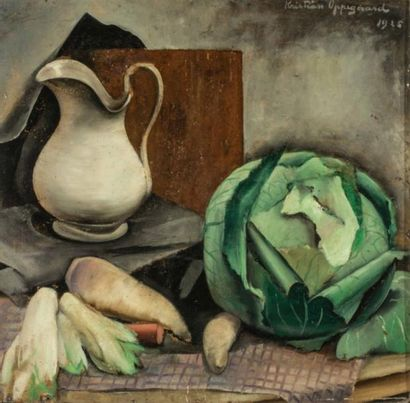 Kristian OPPEGAARD (1887-1955)  Composition...