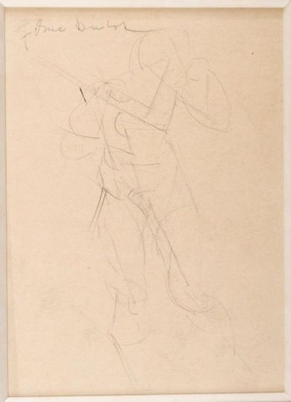 220B  Gustave MIKLOS (1888-1967)  Etude d'homme...