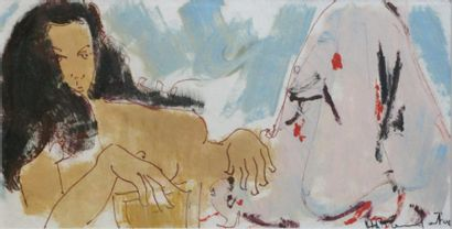 234B  Alain BONNEFOIT (né en 1937)   Sylvie,...
