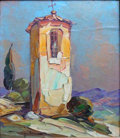 237B  Élie BERNADAC (1913-1999)  L'oratoire...