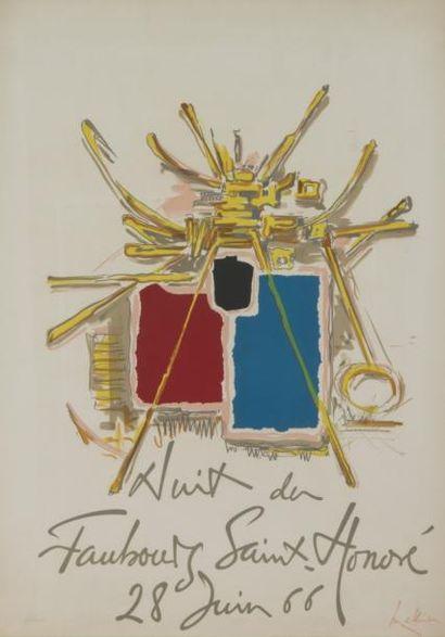 239E  Georges MATHIEU (1921-2012)  Nuit du...