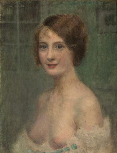 Louis PICARD (1861-1940)  Portrait de jeune...