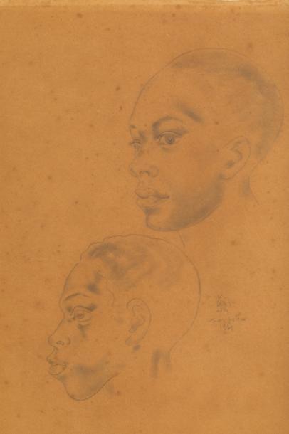 D'après Leonard Tsuguharu FOUJITA (1886-1968)...