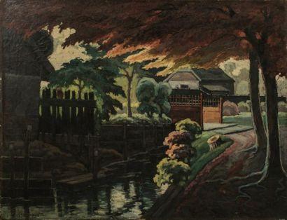 Maurice Vagh WEINMANN (1899-1966)  MA rivière...