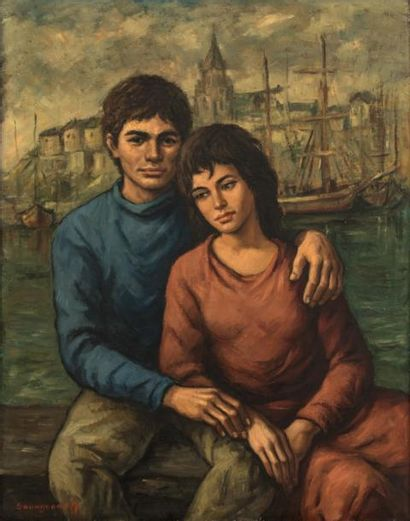 ANTONIN IVANOVITCH SOUNGOUROFF (1911-1982)...