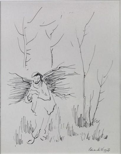 257E  Eduardo VICENTE (1909-1968)   Porteur...