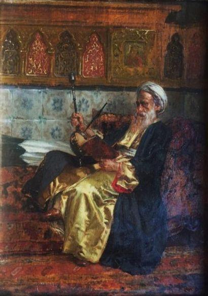 Rudolph ERNST (1854-1932)  Le sage lisant...