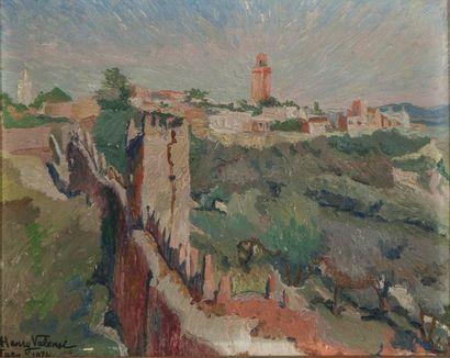 257B  Henry VALENSI (1883-1960)  Vue de...
