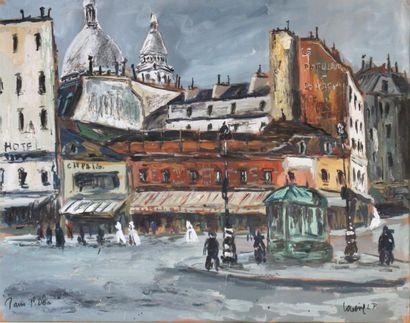 263E  Robert LAVOINE (1916-1999)   Place...