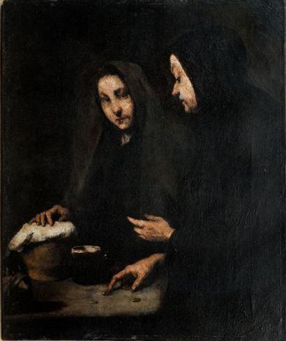 Théodule Augustin RIBOT (1823-1891)  Peinture...