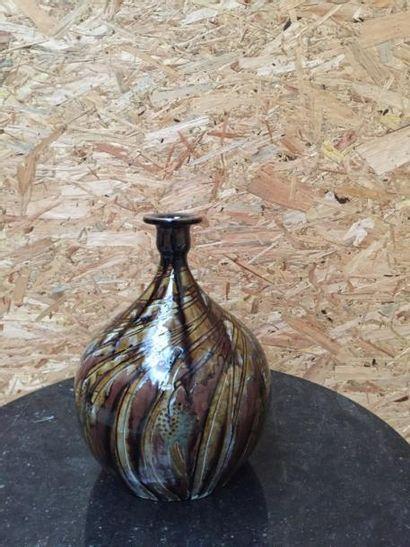 PRIMAVERA  Vase à large panse et petit col...
