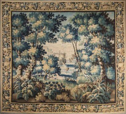 Importante tapisserie d'Aubusson du début...