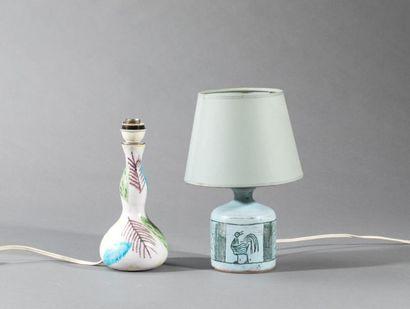 Jacques BLIN (1920-1995)  Pied de lampe,...