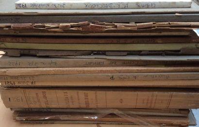 18 Catalogues anciens de 1920 à 1922  Collections...