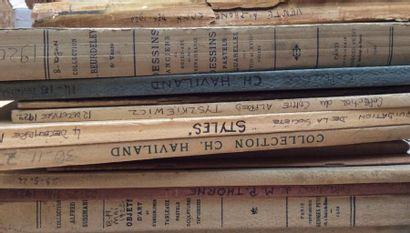 11 catalogues anciens de1920 à 1922  Collections...