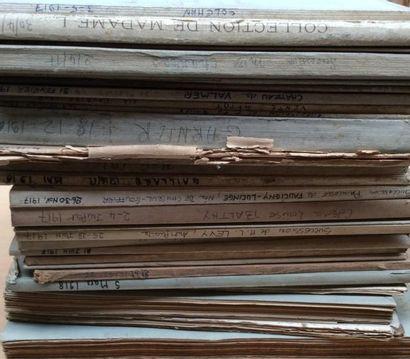 25 catalogues de 1914 à 1918  Collections...