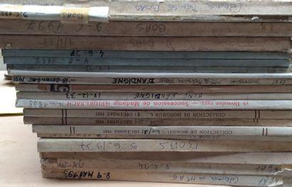 20 catalogues de 1934 à 1937  Collections...