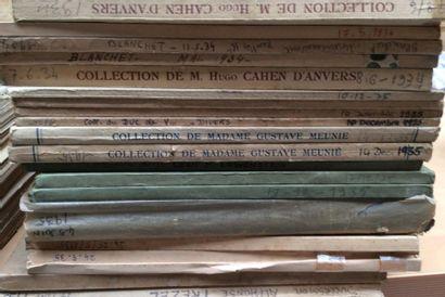 20 catalogues de 1934 à1937  Collections...