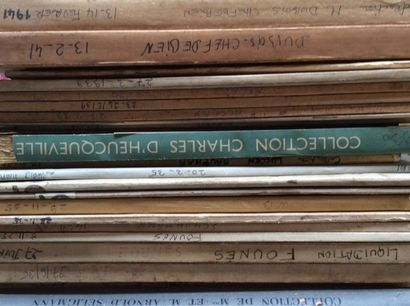20 catalogues de 1935 à 1941  Collections...