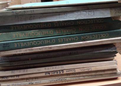 18 catalogues de 1934 à 1941  Collections...
