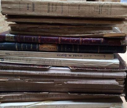 15 catalogues anciens de 1902 à 1903  Collections...