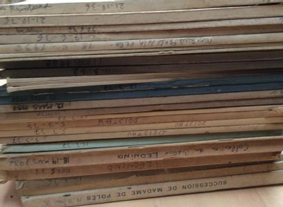 25 catalogues de ventes anciennes  Collections...