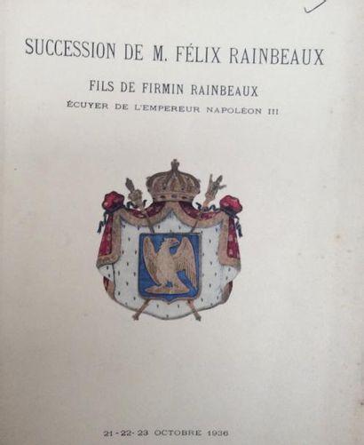 25 catalogues de ventes anciennes  Collections : de Polès, Léonino, Doistau, Perez...