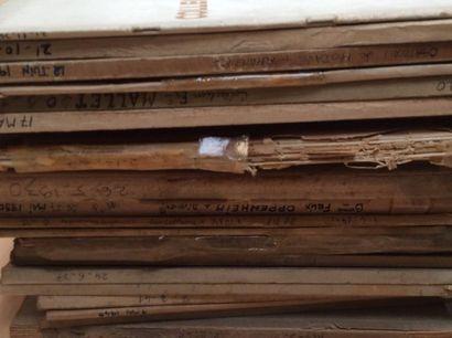 19 catalogues de ventes anciennes  Collections...