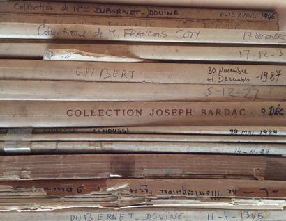 13 catalogues de ventes anciennes  Collection...