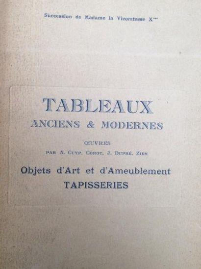 6 Catalogues de ventes anciennes  Collections...