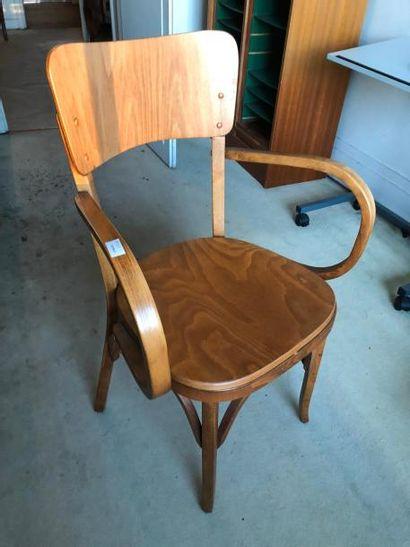 fauteuil de bureau, vers 1960