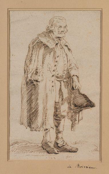 Jean-Jacques DE BOISSIEU (1736-1810)  Vieil...