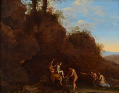 Attribué à Johan VAN HAENSBERGEN (1642-1705)...