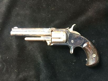Revolver Smith et Wesson n°1 ½, second issue....