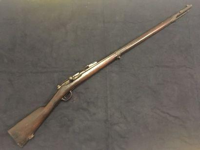 Fusil Chassepot modèle 1866/74 transformé...
