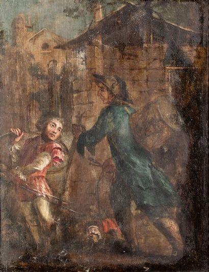 Ecole française du XVIIIème siècle    Les...