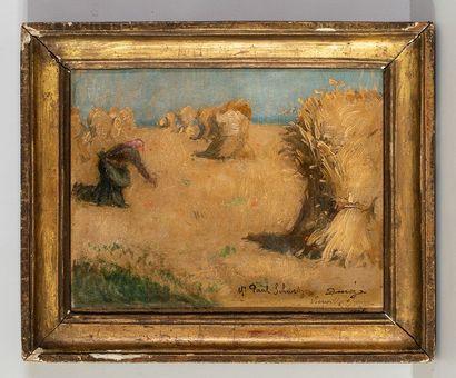 Paul SCHWARTZ (XIXème siècle)    Les glaneuses...