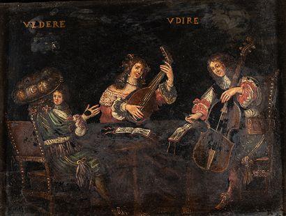 Dans l'esprit du XVIIIème siècle    Vedere...