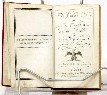 Almanach de la Cour, de la Ville et des départemens...