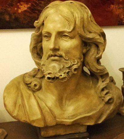 Buste du CHRIST en plâtre