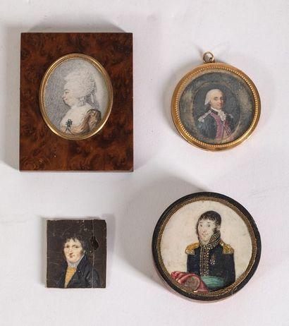 Lot de 4 miniatures