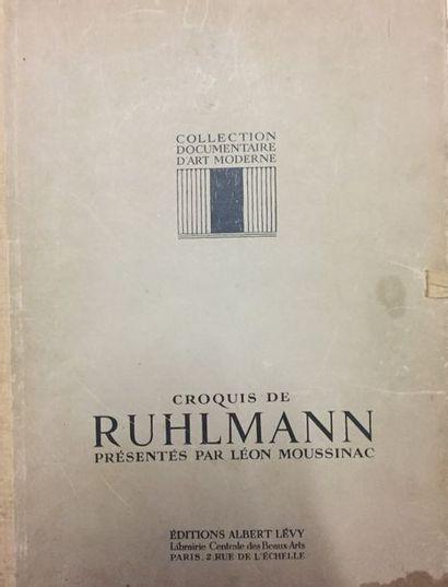 Exposition des arts 1925, l'Hotel Collectionneur, Groupe Ruhlmann, ed Albert LEVY...