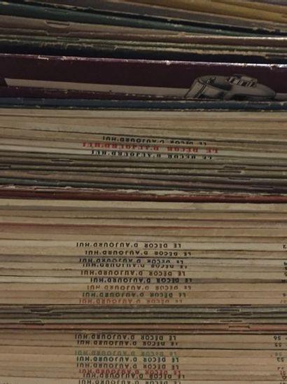 Décor d'Aujourd'hui, Revue  1933 à 1950, 70 exemplaires